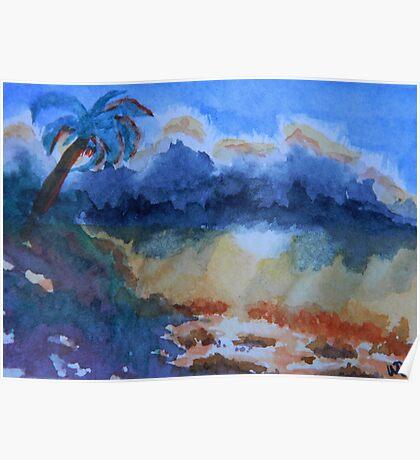 Galapagos Storm Poster