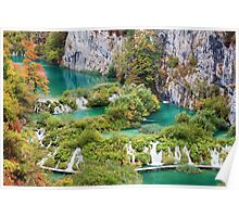 Plitvice Lakes National Park Poster