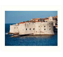 Dubrovnik Fortifications Art Print