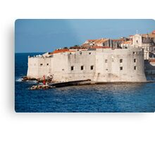 Dubrovnik Fortifications Metal Print