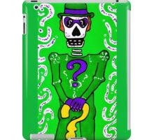 The Riddler Day of the Dead iPad Case/Skin