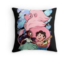 Steven, Connie, and Lion Throw Pillow