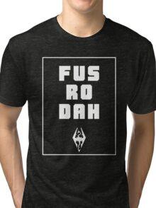 Unrelenting Force Shout Tri-blend T-Shirt