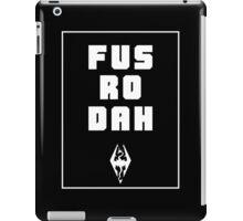 Unrelenting Force Shout iPad Case/Skin