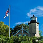 White River Light Station Museum 2 by Scott Wood