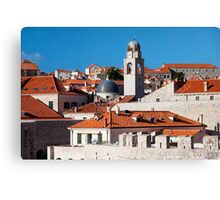 Dubrovnik Old Town Canvas Print