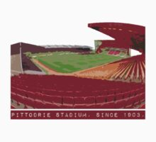 Pittodrie Stadium.  Home Kids Tee