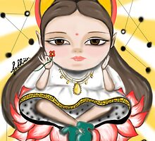 Bodhisattva of Compassion by fashiu