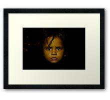 child of india Framed Print