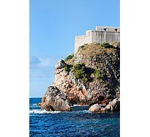 Fort Lovrijenac in Dubrovnik Photographic Print