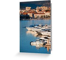 Split City and Harbour Greeting Card