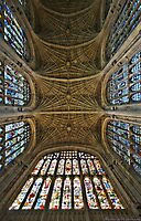 HR Geiger : Kings College Cambridge by MarcW