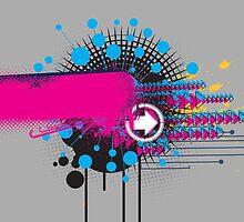 Abstract Graffiti by behindsky