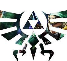 Zelda Triforce by Jordan Jones