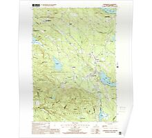 USGS TOPO Map New Hampshire NH Sanbornville 329775 2000 24000 Poster
