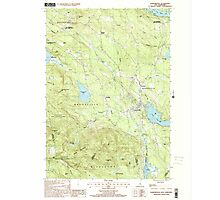 USGS TOPO Map New Hampshire NH Sanbornville 329775 2000 24000 Photographic Print