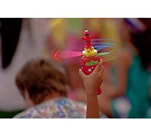 Spinning Elmo Photographic Print