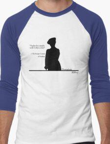 A Simpler World Men's Baseball ¾ T-Shirt