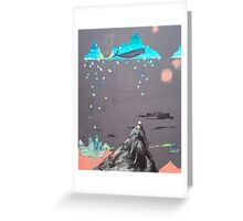 Oceans Are Like Mountains Turned Upside Down Greeting Card