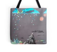 Oceans Are Like Mountains Turned Upside Down Tote Bag