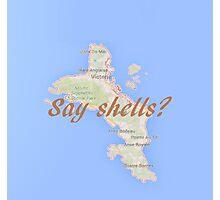 Shellllllls Photographic Print