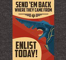 Knifehead Kaiju Propaganda Poster (Pacific Rim) Unisex T-Shirt
