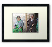 Respected Ota-Ona Framed Print