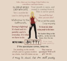 Buffy Quotes by AlaJonea