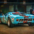 Gulf GT40 1 by Stuart Row