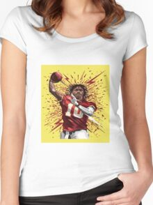RG3 Shirt Women's Fitted Scoop T-Shirt
