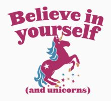 Believe in yourself (and unicorns) One Piece - Long Sleeve