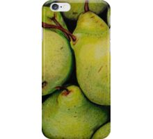 Pears in Colour Pencil iPhone Case/Skin