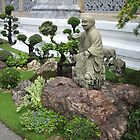 Buddhist Garden by M-EK