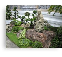 Buddhist Garden Canvas Print