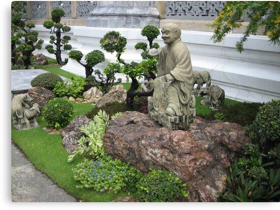 Buddhist Garden by M-EK