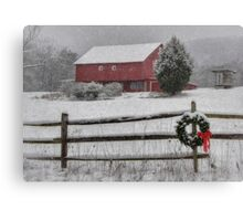 Clarks Valley Christmas Canvas Print