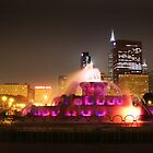 Buckingham Fountain, Chicago by EdPettitt