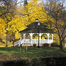 Gazebo in the Park by M-EK
