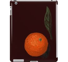 Orange and leaf iPad Case/Skin