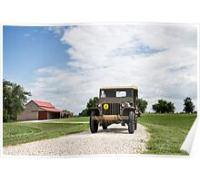 1942 Willys MB Jeep Poster