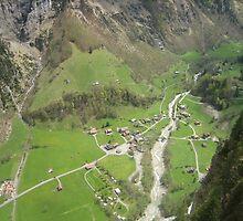 Look Out Below - Gondola View by M-EK