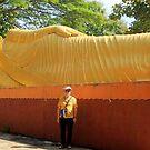 A Sleeping Buddha by Laurel Talabere