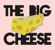 The BIG CHEESE like a boss cheesy humour! Kids Tee