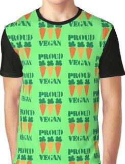 PROUD VEGAN Graphic T-Shirt
