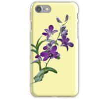 Purple Cymbidium Orchids for iPhone iPhone Case/Skin