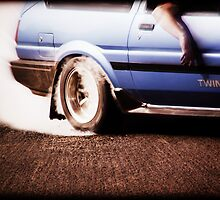 Toyota Corolla AE86 Burnout [2] by Deccy43