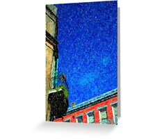 New Orleans French Quarter Colors Louisiana Artwork Greeting Card