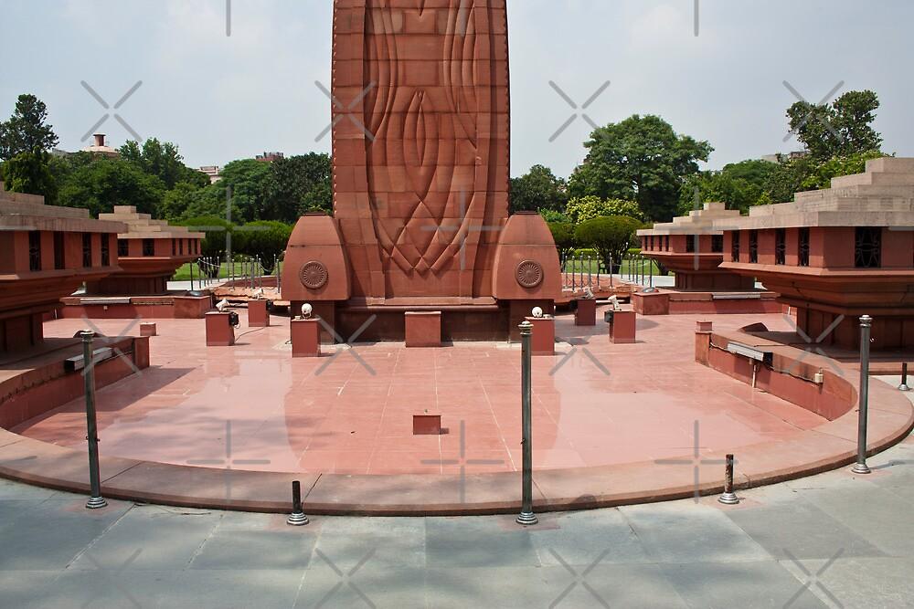 Base of the Jallianwala Bagh memorial in Amritsar by ashishagarwal74