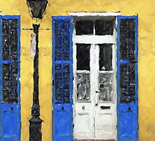 New Orleans French Quarter Shutters Doors Colors Louisiana Artwork by Oldetimemercan