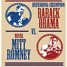 Obama Vs Romney by uncivilmouse